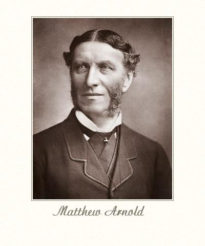 Critical essays by matthew arnold